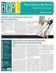 march 2017 Bulletin