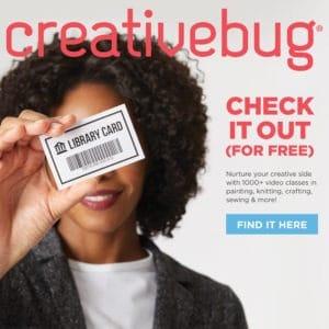CreativeBug block ad