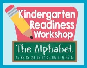 Kindergarten Readiness Workshop