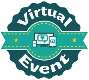 Virtual Event Stcker